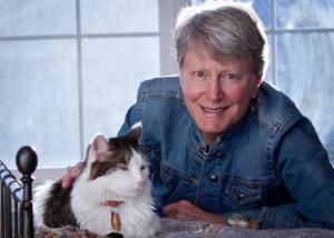 Deborah and cat