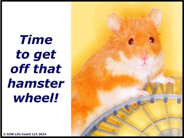 Time to Get Off That Hamster Wheel!