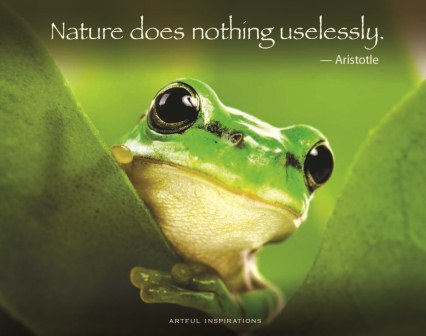 The Nurture of Nature