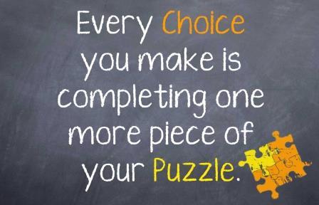 Every choice matters!