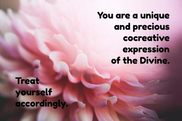 Your are unique and precious