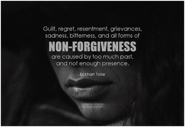 forgiveness quote eckhart tolle