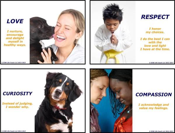 Love, Respect, Curiosity & Compassion