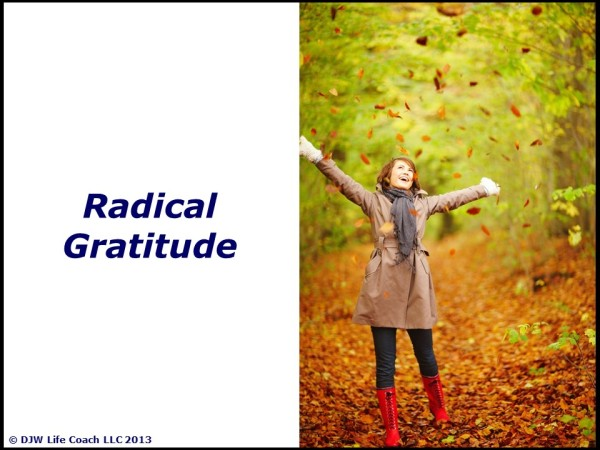 Radical Gratitude!